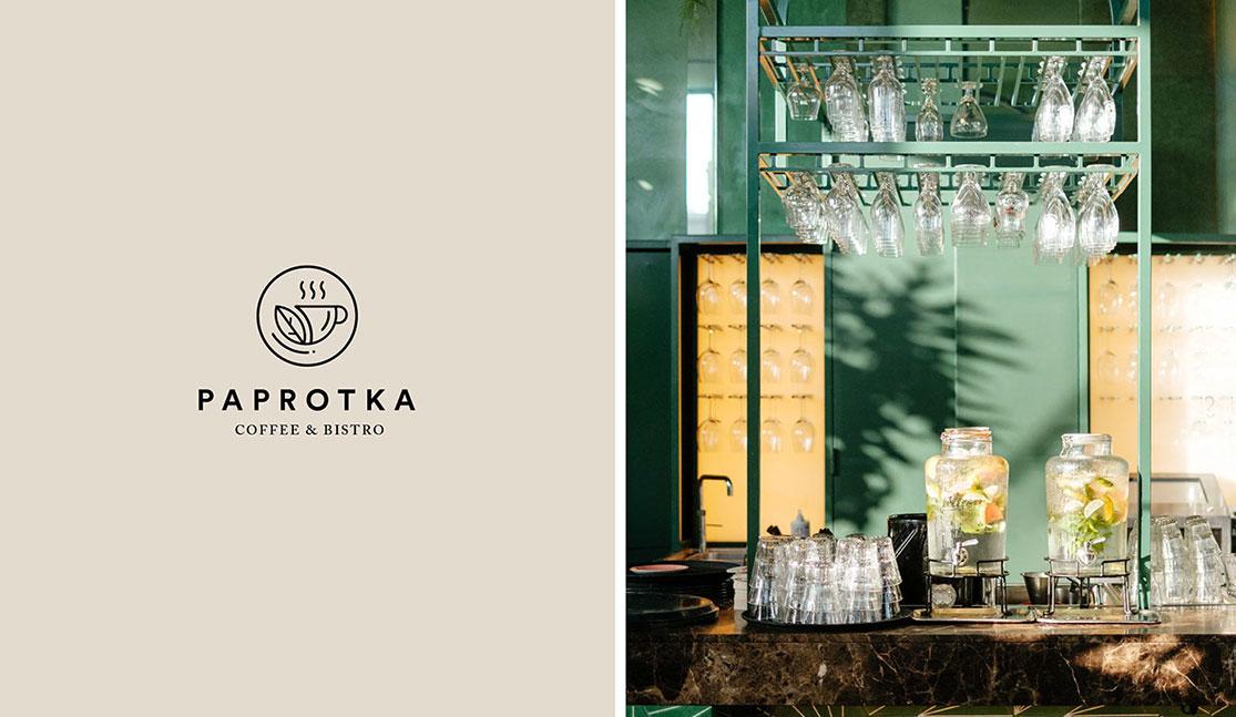 文艺时尚北欧范咖啡店VI设计图片